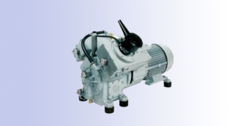 three stage water cooler middle pressure compressor